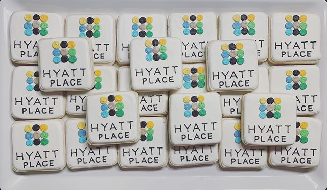 We ❤️ Cookie-ing logos!! _hyattplace
