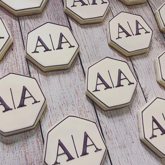 Monogram Cookies ._._._