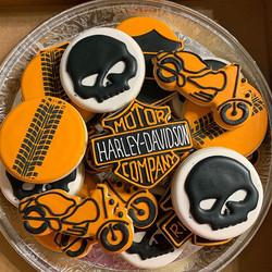 Harley Davidson Cookies!