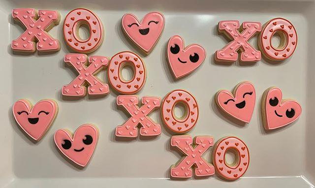 XOXO Valentine's Cookies