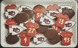 Chiefs Game Day Cookies
