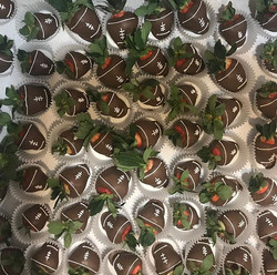 Chocolate Covered Strawberries #GameDayS