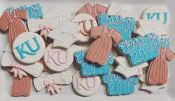Pretty Grad Cookies!