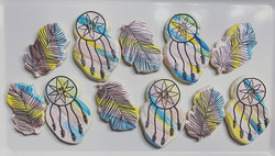 Boho • Dream catchers • Feathers • Happy