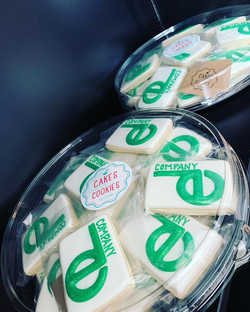 Logo Cookies for the Competition Dancers