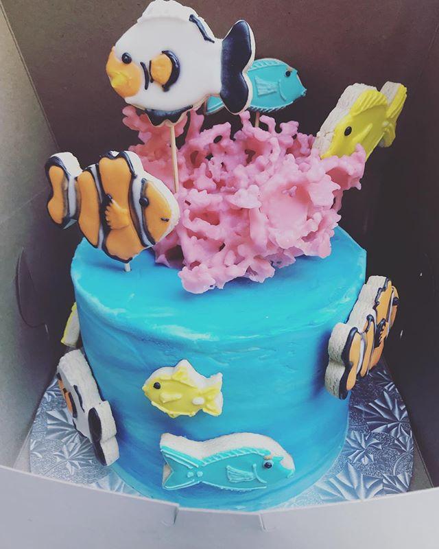 Aquarium Groom Cake