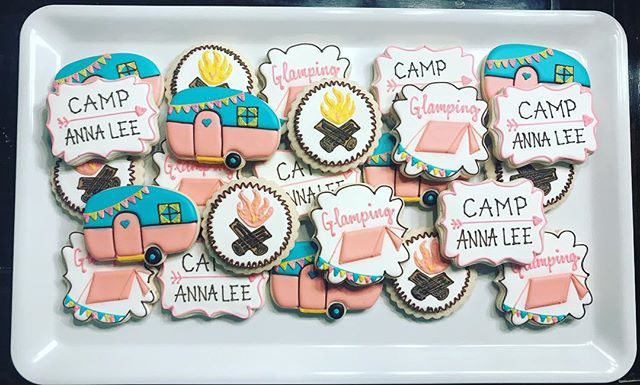 Glamping Cookies