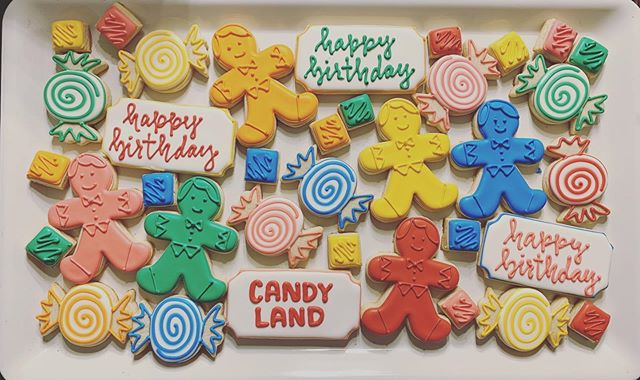 Candy Land Cookies 🍭