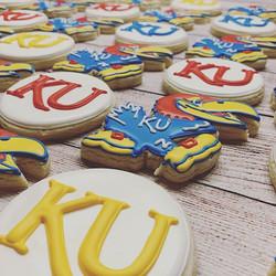 KU Grad Cookies
