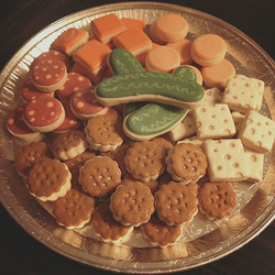 Meat & Cheese Tray (cookies)