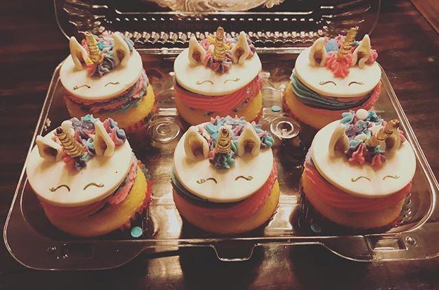 Unicorn 🦄 Cupcakes