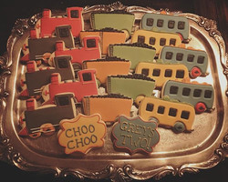 Choo Choo! Birthday Cookies