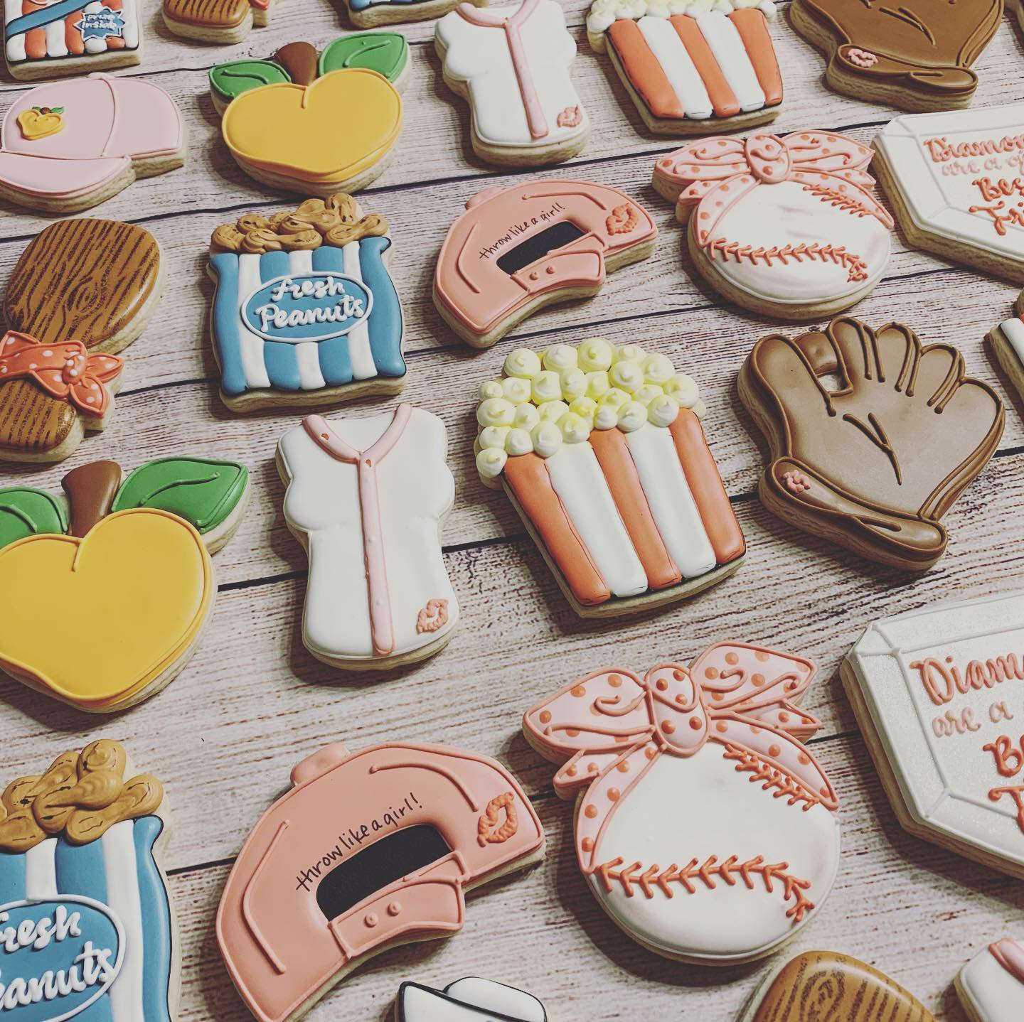 A League of Their Own Cookies