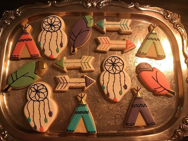 Aztec Themed Cookies