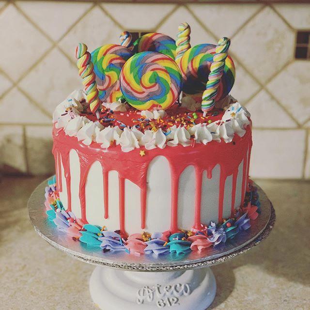 Candy Land Cake 🎂