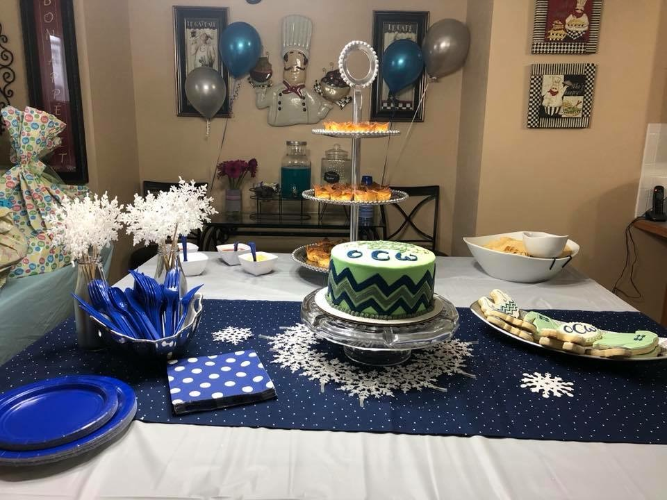 Baby Shower Setup