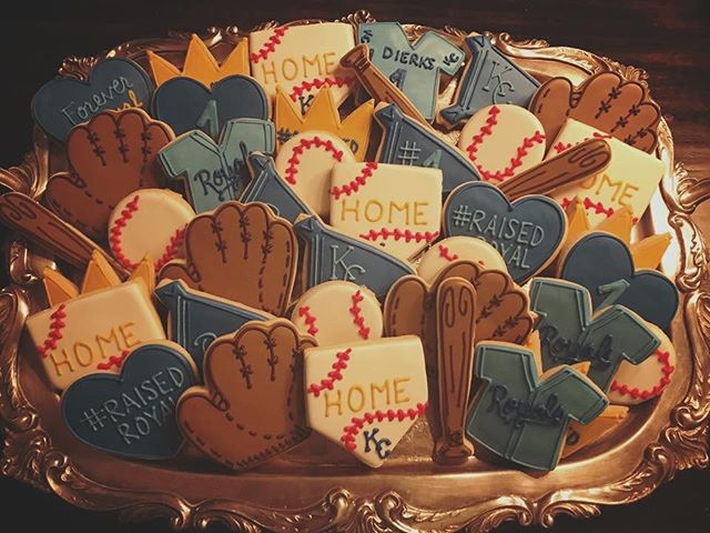 Kansas City Royals Sugar Cookies