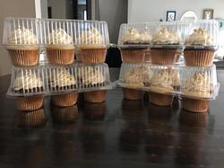 Gold & White Cupcakes