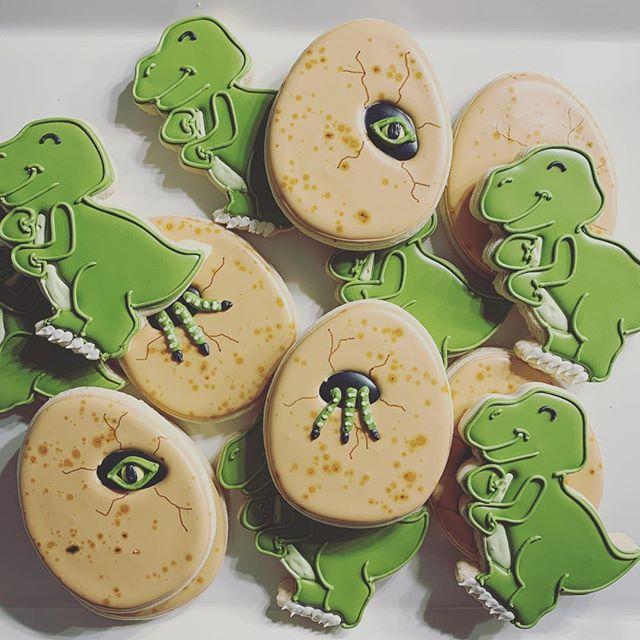 Dinosaurs 🦖  #cookiedecorator