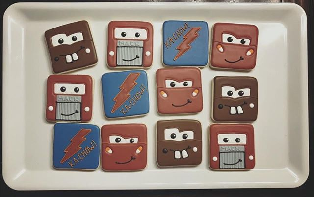Cars Cookies
