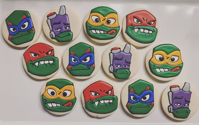 Rise of the TMNT #tmnt #cookiedecorator