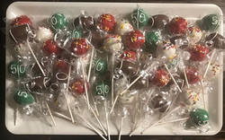 Cake Pops! Go Chiefs!