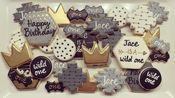Jace is a WILD one! 👑 #cookiedecorator.