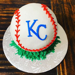 Baseball Smash Cake!