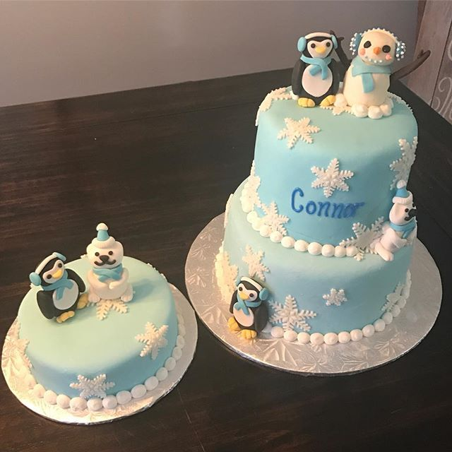 #birthdaycake #winterONEderland