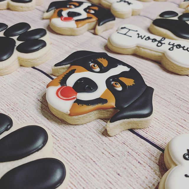 Puppy Cookies are my Fav! I woof you!