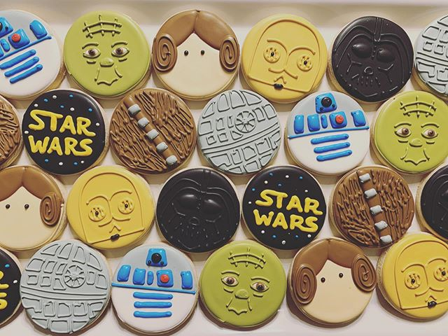 Star Wars Cookies 🖤