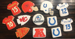 AFC Playoff Cookies