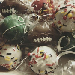 Game Day Cake Pops