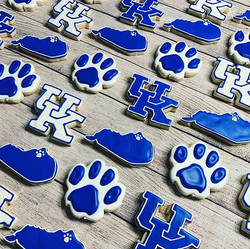 University of Kentucky Cookies ._._._