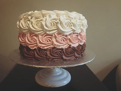 Ombre Cake (inside too!)