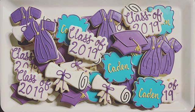 Graduation Cookies for Caden!