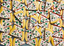 Pizza Lovers Wedding Cookies