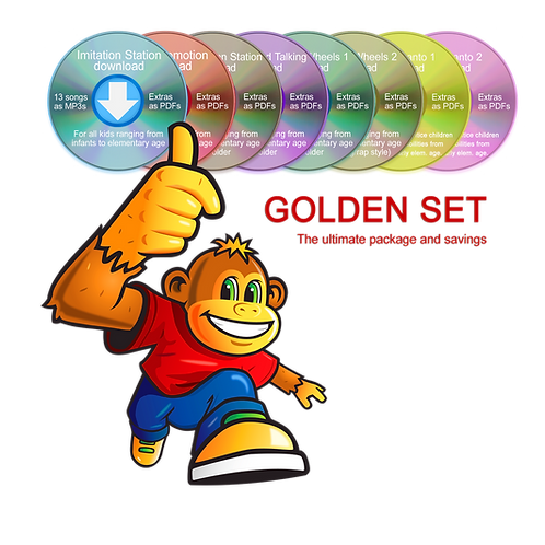 Golden Set (No videos included)