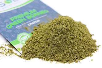 Premium Green Borneo Powder