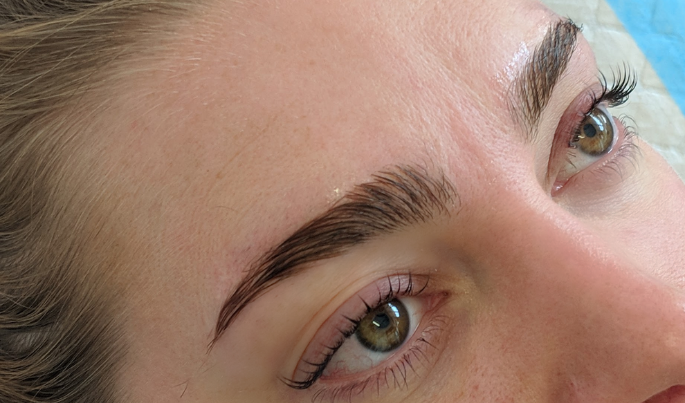keratin lash lift and brow lamination @b