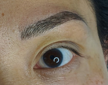 Microblading asian eyes at Beyond Lashes