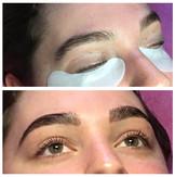 Keratin lash lift and brow lamination an