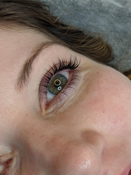 Keratin lash lift and brows lamination @