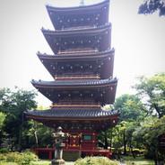 Pagoda in Ueno Zoo