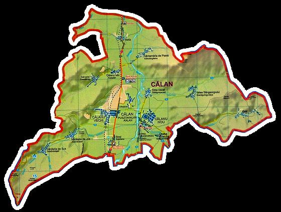 Harta calan Călan