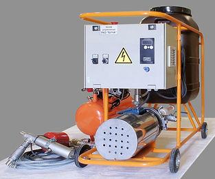 установка для промывки стояков отопления пяти-шести этажных домов