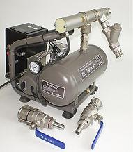 Компрессор для промывки систем отопления