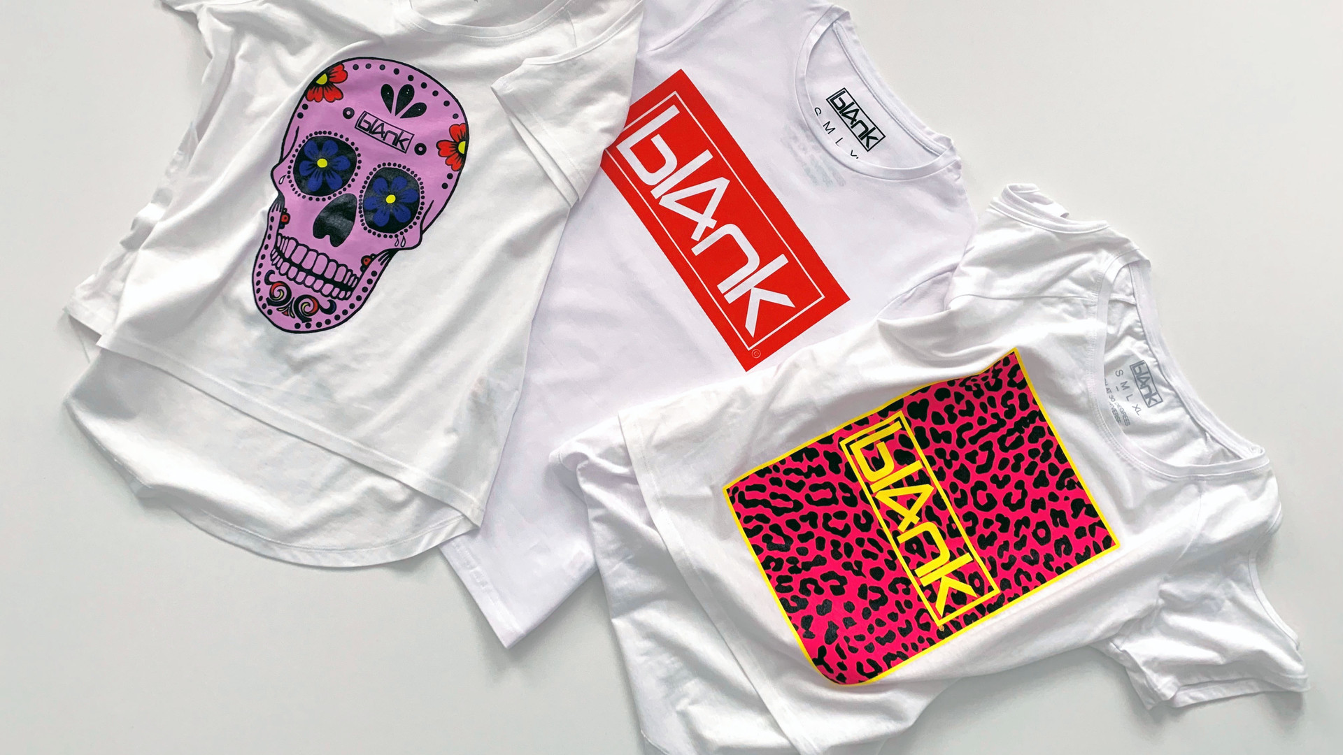 bl4nk tshirts