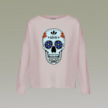 The Día de Muertos sweatshirt