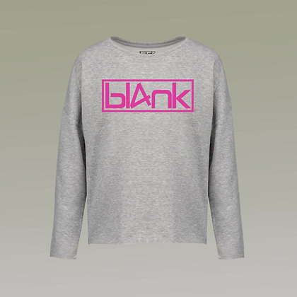 The hot pink logo oversized sweatshirt